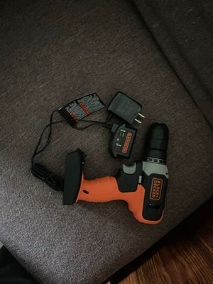 Black & Decker Power Drill + Charger for Sale in Ithaca, NY