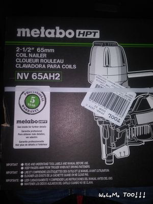 ( Metabo ) Hitachi nail guns brand-new for Sale in Portland, OR