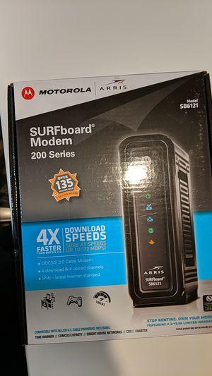 Arris surfboard modem SB6121 for Sale in Fremont, CA