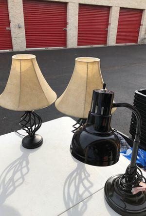 Lamp set (3) for Sale in Manassas, VA