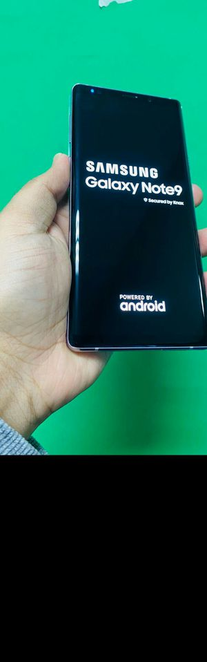 Samsung Galaxy Note 9 128gb Unlocked $340 Sale (Finance for $50 down, no credit needed) for Sale in Carrollton, TX
