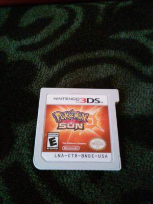 Pokemon SUN for Nintendo Ds/3Ds for Sale in Covington, KY