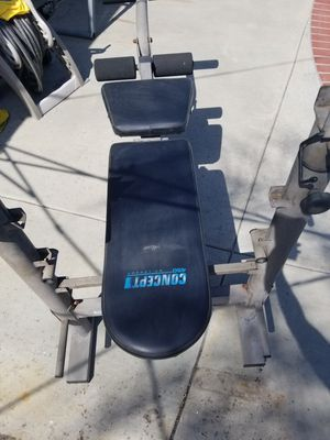 Workout bench for Sale in Los Angeles, CA