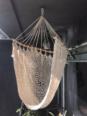 Rope hanging hammock chair for Sale in San Diego, CA
