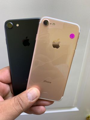 IPHONE 7 32GB $190, 128GB $240, T-MOBILE AND METRO PCS OR AT&T AND CRICKET for Sale in Garland, TX