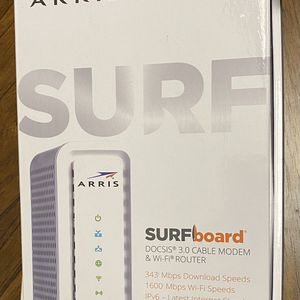Motorola ARRIS SURFboard SBG6700-AC DOCSIS 3.0 Cable Modem & WiFi Router - Open Box/Never Used! for Sale in Cedar Park, TX