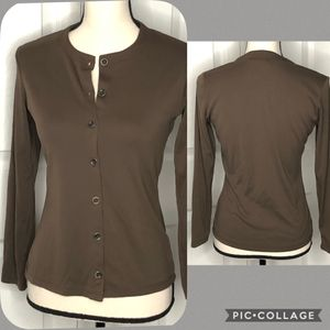Gap Brown Long Sleeve Cardigan Size XS for Sale in New Port Richey, FL
