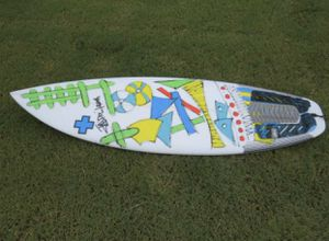 Surfboard (custom prescriptions short board) 5'6 for Sale in Irvine, CA