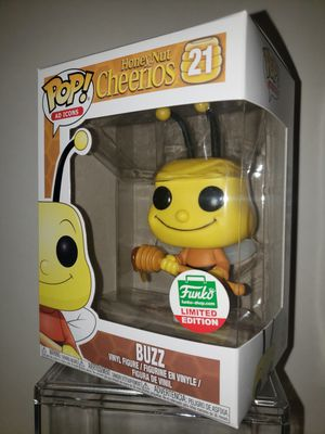 Buzz Honey Nut Cheerios FUNKO POP Limited Edition EXCLUSIVE for Sale in Lake Forest Park, WA