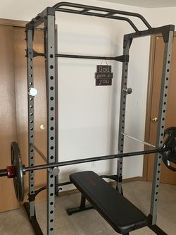 Barbell Rack, Pull Up Bar , Barbell, Qty 2 45lbs. for Sale in Wenatchee,  WA