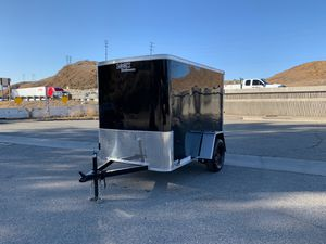 """New Enclosed Look Trailer 5x8 * 6"""" Extra Height * for Sale in Redlands, CA"""