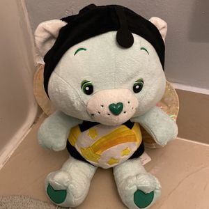 """Care Bears Wish Bear 10"""" Plush Special Edition Natural Wonders Bumble Bee for Sale in Miami, FL"""