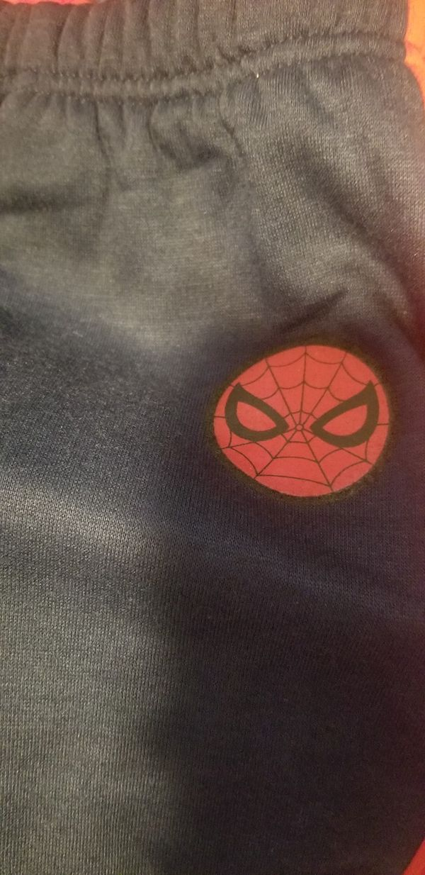 Spiderman sweater and pants