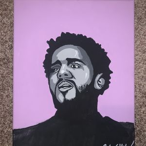 J Cole Painting for Sale in Apex, NC