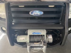 Ramsey Patriot 8000 lb. Winch with Commercial Grade Bull Bar for Sale in Huntington Beach, CA