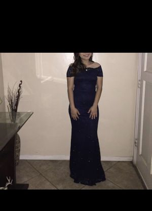 Prom dress (Navy) for Sale in Jurupa Valley, CA
