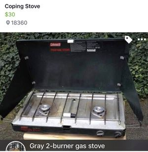 Camping stove for Sale in Stroudsburg, PA