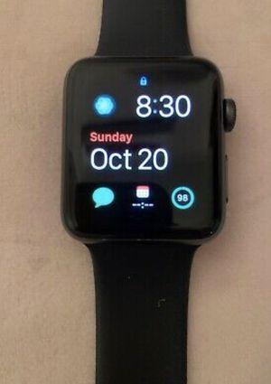 Apple Watch Gen 3 Series 3 GPS 38mm Space Gray Aluminum - Black Sport Band for Sale in Pottsville, PA