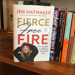 Fierce Free And Full Of Fire - Book By Jen Hatmaker for Sale in Houston,  TX