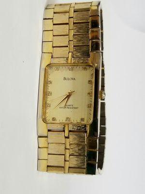 Vintage Bulova 18k watch for Sale in Arlington, TX