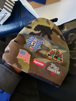 Supreme woodland camo championship beanie for Sale in Valley Stream, NY