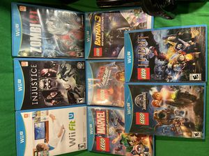 Nintendo Wii U game lot some never opened for Sale in Seattle, WA