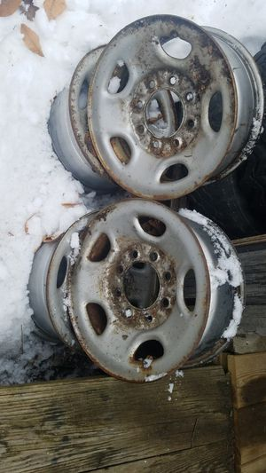 Chevy 8 lug rims for Sale in NEW GLOUCESTR, ME
