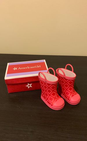 American girl doll boots for Sale in Irwin, PA