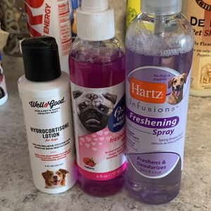 Dog refreshing spray 3 Bottles Practically New for Sale in Oshkosh, WI