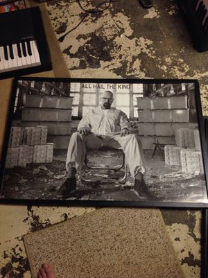 Breaking bad framed poster for Sale in Upper Darby, PA