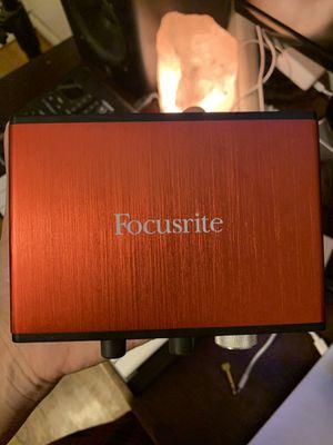 Focusrite Scarlett Solo (2nd Gen) USB Audio Interface for Sale in Pico Rivera, CA