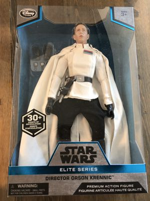 Disney Star Wars Director Orson Krennic Elite Series Premium Action Figure New in Box for Sale in Keizer, OR