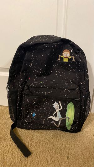 Rick And Morty Backpack for Sale in San Antonio, TX