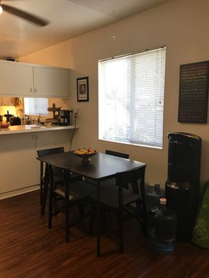 Quaint, Espresso, Kitchen Table and 4 Chairs for Sale in Chandler, AZ