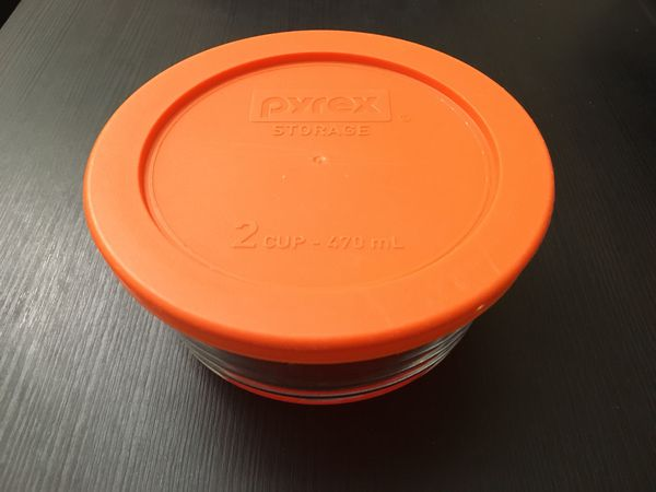 Pyrex 2cup storage