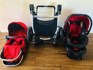 City Select by Baby Jogger doble Stroller and Car seat LIKE NEW!!! for Sale in Orlando, FL