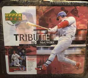 1999 Upper Deck NBA Tribute to Mark McGwire Factory Sealed Lunch Box- BRAND NEW for Sale in Yorba Linda,  CA