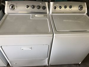Whirlpool Washer with Gas Dryer for Sale in Columbia, SC