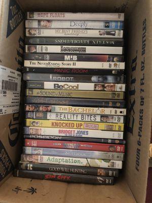 Dvds 1 each pickup in owings mills for Sale in Owings Mills, MD
