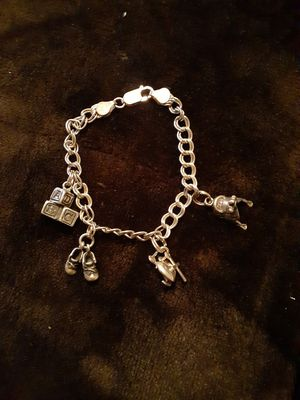 Silver Charm Bracelet for Sale in Westminster, CO