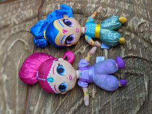 Disney shimmer and shine pair brand new plush stuffed animal toy dolls for Sale in Sarasota, FL