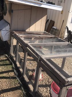 Chicken Coop Or Quail Birds With Hens for Sale in Hesperia,  CA