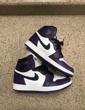 Court purple Jordan 1 for Sale in Kissimmee, FL