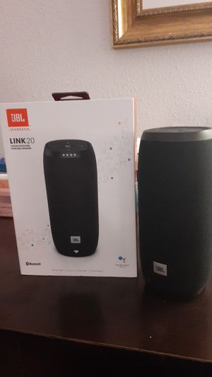 JBL Link 20 Bluetooth Water Proof Speaker for Sale in Tampa, FL