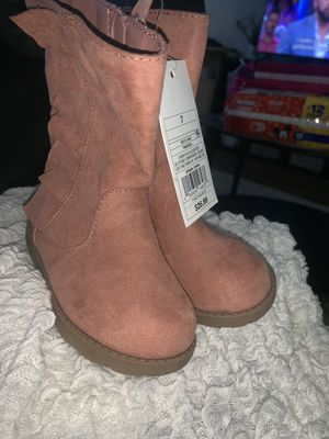 Toddler girl boots size 7&8 for Sale in Tucker, GA