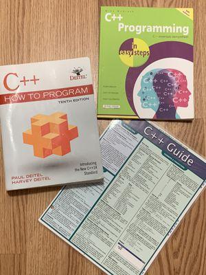 DEITEL C++ Programming and Extras for Sale in Richmond, VA