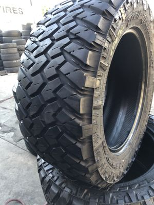 305/55R20 Nitto Trail tires (4 for $340) for Sale in Santa Fe Springs, CA
