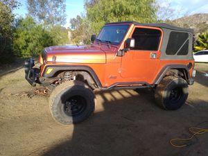 2000 Jeep Wrangler tj for Sale in Nuevo, CA