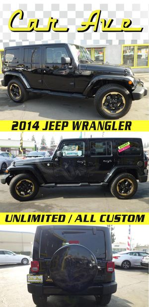 2014 Jeep Wrangler Unlimited 4X4 for Sale in Fresno, CA