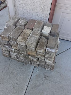 FREE bricks. .........please dont ask if it is available for Sale in Sacramento, CA